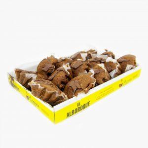 Magdalenas Chocolate Rellenas Chocolate